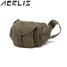 AERLIS Men Women Canvas Multifunctional Casual Outdoor Travel Crossbody Bag Hiki