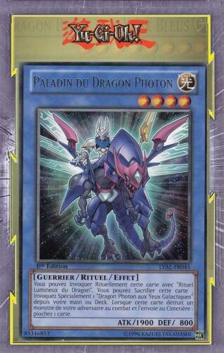 Paladin Du Dragon Photon LVAL-FR045 Lumière Guerrier Rituel Effet Niveau 4