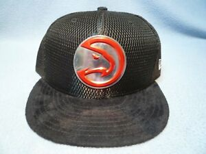 pretty nice 38466 cfc61 Image is loading New-Era-59fifty-Atlanta-Hawks-On-Court-Collection-