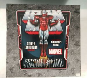 2012-Marvel-16-034-IRON-MAN-SILVER-CENTURION-Bowen-Designs-494-500-New-Open