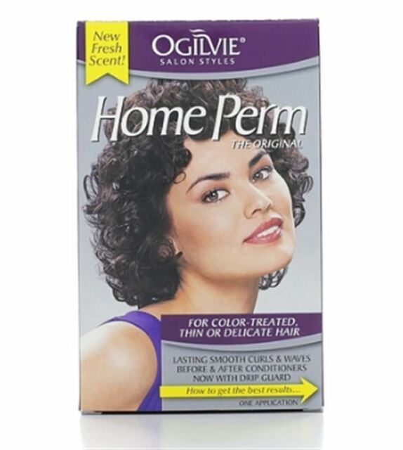 Ogilvie Home Perm The Original Color Treated Thin Or Delicate Hair 1 Each