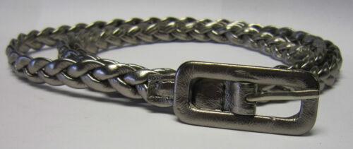 stylish Thin Woven Plaited PU Leather belt for ladies B245//6