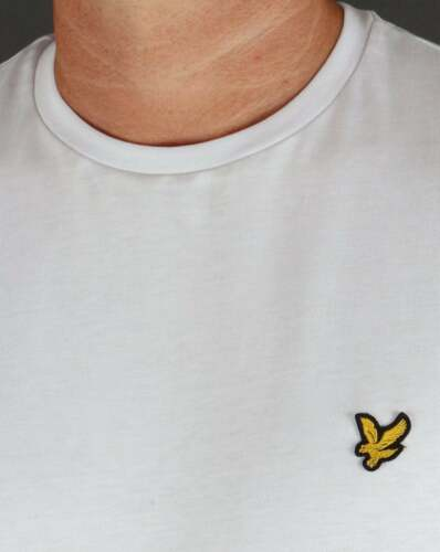 Lyle and Scott Long Sleeve T-shirt in White 100/% cotton