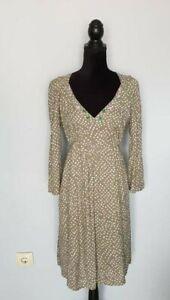 NOA-NOA-Damen-Kleider-Dress-Grun-Langarm-Dress-Gr-M