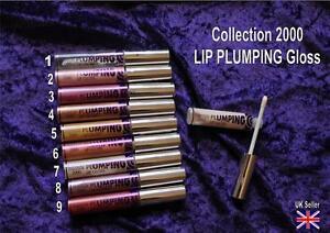 Collection-2000-LIP-PLUMPING-gloss-1-2-3-4-5-6-7-8-9-lipgloss-CHOICE-of-shade
