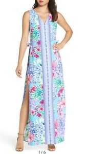 046fb5ec01106b Image is loading Lilly-Pulitzer-Donna-Maxi-Romper-Multi-Special-Delivery-