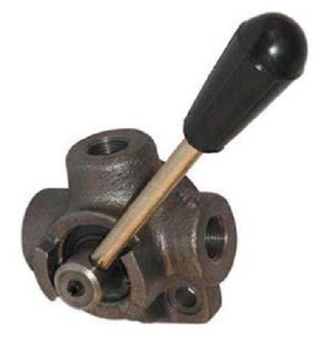 Distributeur hydraulique vanne 3 voies déviateur 3 voies  hydraulique 1//4 40L