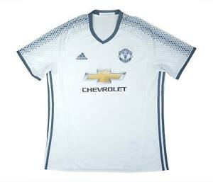 Manchester United 2016-17 ORIGINALE THIRD SHIRT (BUONO) XL soccer jersey
