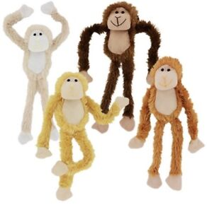 18 Plush Hanging Monkey Stuffed Animal Monkeys Soft Hands Toy Gift