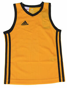 26e0d105c034 adidas Boys Sports Vest Y Commander J Basketball Jersey Athletic ...
