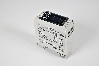 6 AMPS COUPLING RELAY 1 POLE SIEMENS 3TX7002-3AB01 NEW NO CONTACTS