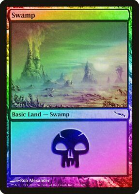 340 Swamp FOIL 8th Edition NM-M Basic Land MAGIC THE GATHERING CARD ABUGames
