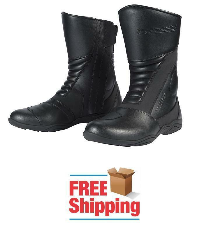 TOURMASTER SOLUTION 2.0 WATERPROOF MOTORCYCLE Stiefel NEW FREE SHIPPING