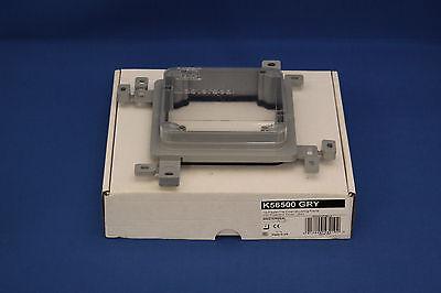 MASTERSEAL MK K56500 GRY 1G PLASTER//TILE FLUSH MOUNTING FRAME C//W COVER