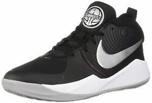 Nike-Team-Hustle-D-9-GS-Scarpe-da-Basket-Unisex-Bambini-AQ4224-001-TEA