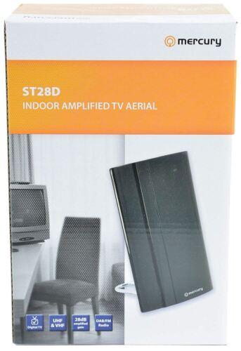 Mercury ST28D Amplified Indoor Tv DAB Aerial Motorhome Caravan