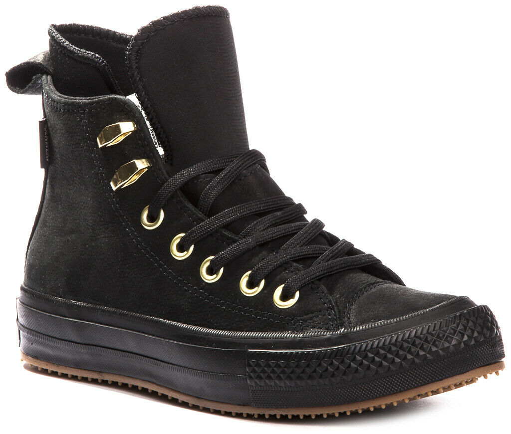 CONVERSE Chuck Taylor WP Leather 557945C Waterproof Sneakers shoes Boots Boots Boots Womens 5de0db
