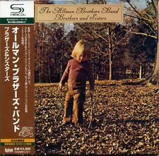 ALLMAN BROTHERS BAND Brothers and Sisters (1973) Japan Mini LP SHM CD UICY-94007