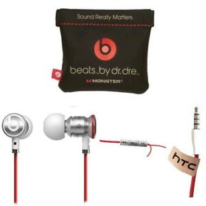 WHITE-RED-urBeats-by-Dr-Dre-Earbuds-with-Mic-In-Ear-Beats-Headphones