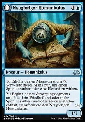 Neugieriger Homunkulus 2 Curious Homunculus mint, Düstermond, deutsch