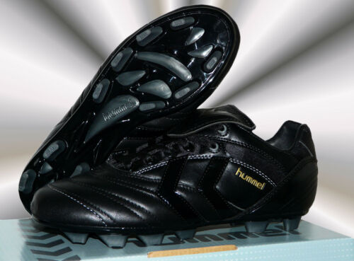 Cuir + NAPPA NERO SOCCER Football NEUF SUPER FG cames Chaussure Hummel