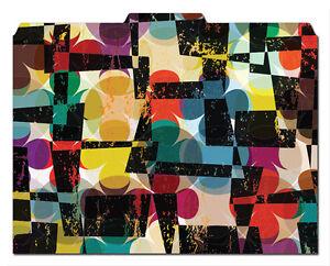 Slate Pattern Set of 12 File-/'N Style Folders Cool School Studios -