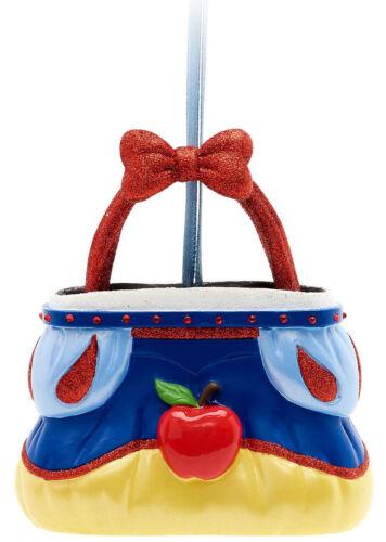 Disney Store Parks Xmas Tree Decoration Bauble Snow White 7 Dwarfs Bag Handbag