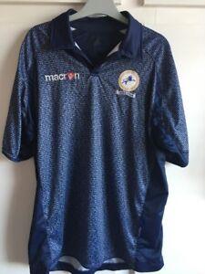 Image is loading XL-2010-MILLWALL-Macron-Special-Football-Shirt-125years cdb3503d4