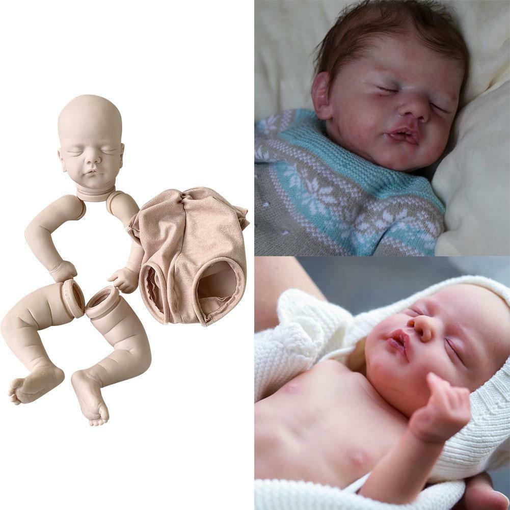 19inch Reborn Doll Kit Popular Sam Sweet Sleeping Boll Lifelike Sale