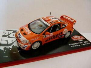 voiture-1-43-IXO-altaya-Rallye-Monte-Carlo-peugeot-307-WRC-orange-2006-SOLBERG