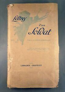 LETTRES-D-039-UN-SOLDAT-Aout-1914-Avril-1915-Preface-A-CHEVRILLON-1916-E-O