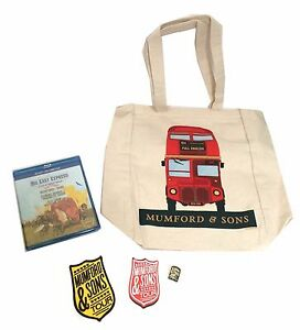 Mumford-amp-Sons-Big-Easy-Express-Tour-Blu-Ray-DVD-5-Piece-Gift-Set-New-Official