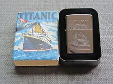 ZIPPO TITANIC  Lighter NEW old Stock 1994 Edition