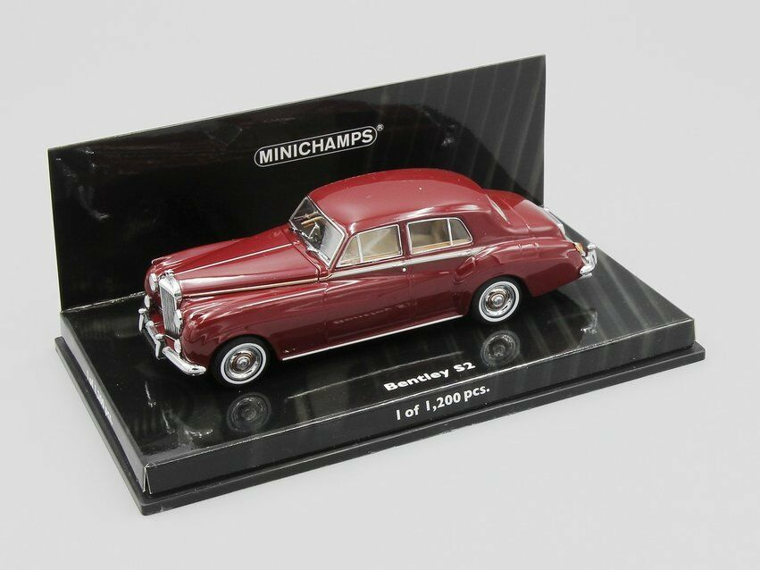 Minichamps 1 43 bentley s2 1960 rot