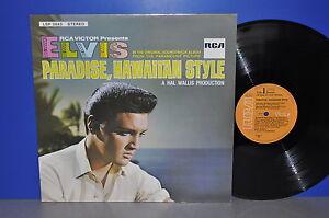 Elvis-Presley-Paradise-Hawaiian-Style-D-RCA-VG-M-Vinyl-LP-clean-sauber-TOP