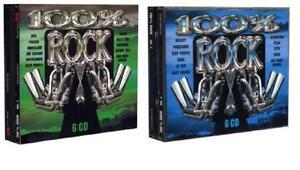 100% Rock Vol. 3+4 (12 CD's) NEU/OVP Best of TV-Werbung Deep Purple Whitesnake