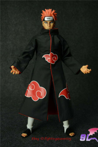 9L TOYS Naruto Pain Six Realms Akatsuki 1//6 Action Figure Eyes Can Move INSTOCK