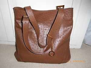 Image Is Loading New Edina Ronay Brown Leather Bag