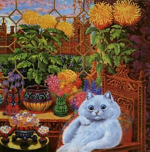 Image result for louis wain vintage illustrations of cats