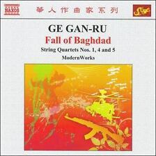 Ge Gan-Ru: Fall Of Baghdad; String Quartets Nos. 1, 4 & 5, New Music
