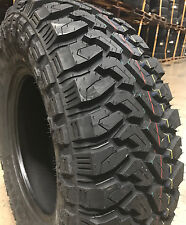 4 NEW 35x12.50R20 Centennial Dirt Commander M/T Mud Tires MT 35 12.50 20 R20 LRF
