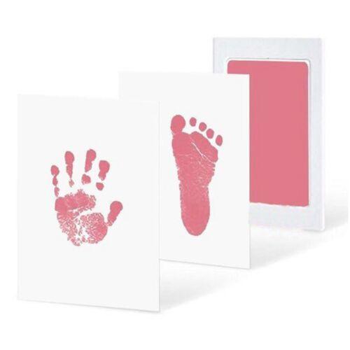 Baby Neugeborenes Sicher Tintenlose Berührung Fußabdruck Handabdruck Ink Pad Non