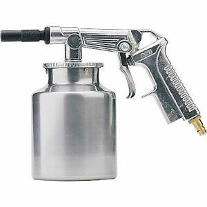 SCHNEIDER Druckluft-Sandstrahlpistole SSP-Strahlfix Saugbecher 1 Liter