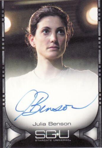 Stargate Universe Season 1 Auto Card Selection