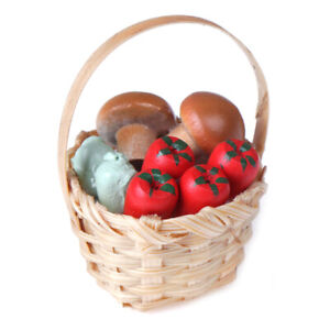 1-12-Scale-Dollhouse-Miniature-Food-Toy-Dinning-Fruit-Bamboo-Basket-decor-R8Y