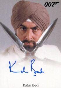James-Bond-Heroes-amp-Villains-Kabir-Bedi-as-Gobinda-Autograph-Card