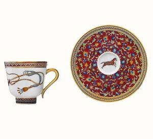 Hermes-Cheval-D-039-Orient-Tasse-Cafe-avec-Soucoupe-Hermes-Cheval-D-039-Orient-009817P