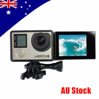 Lcd Bacpac Touch Screen Monitor Viewer+screen Adapter+camera Frame F Gopro 4 3+3