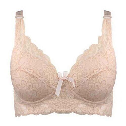 Women Bra Light Underwire Lace Bras 80C-105D 36C-46D Plus Size