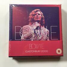 David Bowie Glastonbury 2000 Vinyl 3lp LP Rhino 2018 PREORDER